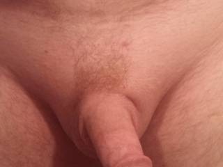 After a little trimming it all nice a smooth. Wanna feel?
