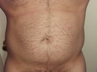 Damn sexy hairy body and big thick cock.  I'm drooling