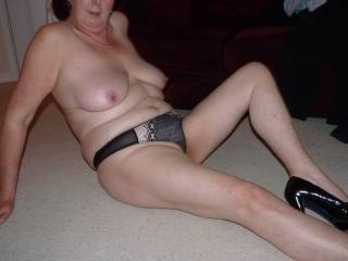 fuck yes hard n stroking it  i love a mature natural real women's body like yours I'm jacking off hard right now about to empty my balls