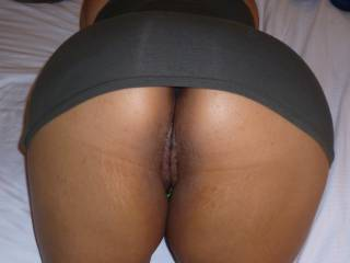 Wife\'s thick Malay ass.