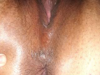 Showing both for your pleasure. Love showing off my pussy and asshole for you.