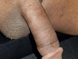 Will any of you horny women suck the head of my BBC and get it hard for me? I want to watch you to try to take it all....
