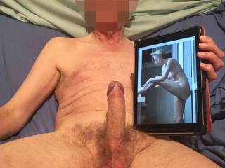 What do you think, shall we fuck doggy with you at the vanity unit or would you rather straddle me for a cowgirl ride?