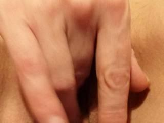Getting my clit swollen