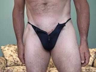 New blue thong