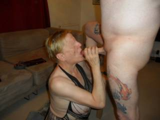 hi all I just adore sucking hubbies hard cock dirty comments welcome mature couple