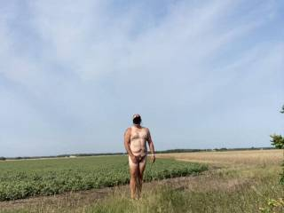 Not to many days left for being naked outside
