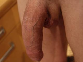 Just my cock!