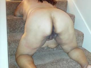 oh yess my cock is stiff and ready for you...looking hard at your sexy ass and waiting pussy