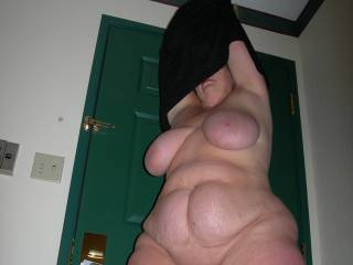 Damn, I just love how your pussy lips stick out thru the folds of of your pussy. do they hang when your excited? I hope so. lol