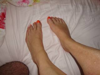 Feet of Maggy for fantastic foot-job!!!
