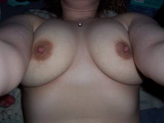 Id lov to lick,suck and fuck your big beautiful tittys and shot a load all over them,