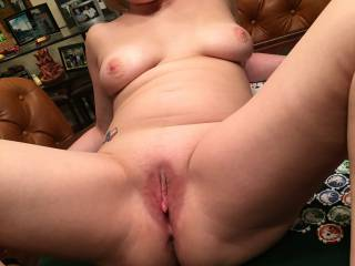 Makes me want to grab you, pull you close, and eat your sexy pussy till you cum all over my face.