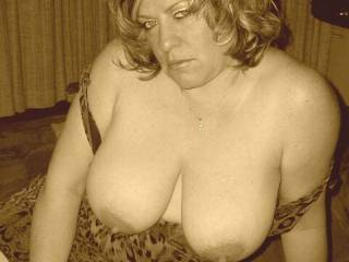 Sweet!! Would sure enjoy having some time to enjoy your AWESOME tits and nips!! What a sucking good time it would be!!