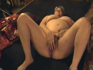 Kim exposes her shaved pussy. Love the BUSH....