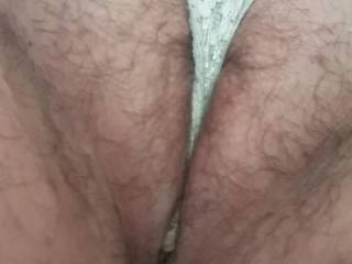 As much as I enjoy seeing Kiki's pretty pink pussy spread wide open I also really enjoy seeing her panties pulled up into her fat pussy lips. Do you like Kiki's fat little hairy pussy?