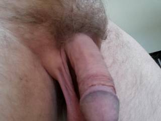 mmmmmmmm Posting my Big cock For my Sexy Friend, she likes to View my Pics as she Plays.......Enjoy Bby.....xxx D