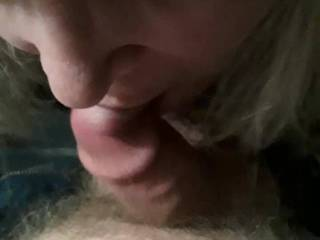 Guys love my sucking with my tits out