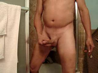 my naked body in the shower. Wanna get wet with me?  Maybe blow me dry??