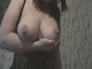 i love your big sexy tits you r hot and get me hard every day
