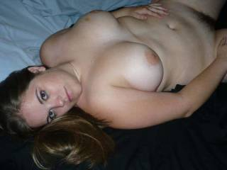 Please wrap those beautiful titties around my hard cock...