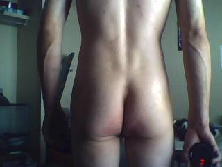 Heres my rear end.