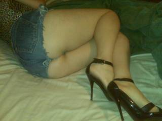 SEXY...He's one lucky guy....what a sweet ass