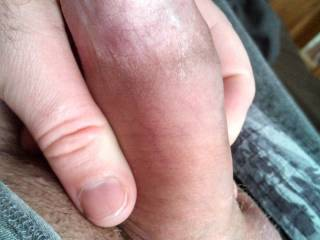 Wanna be my hubby's slut? This is his yummy cock soft, Don't you wanna make him hard and ride him? Mrs.