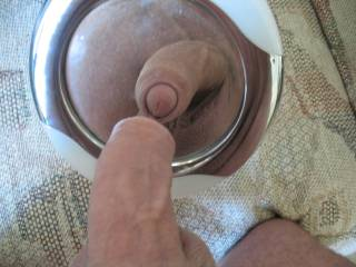 He should, that's a beautiful cock.  I like it so much I want it in my mouth so I can enjoy the taste as well as how good it looks.  He'll love how I make him cum.  MILF K