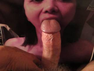some more big dick for a very sweet asian chcik ...I\'d love cum inside your throat !