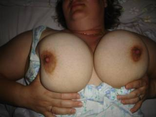Do you want to fuck my tits?, I\'m waiting your cum all over them.