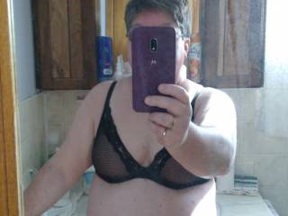 My naughty girl sent me a picture of her in sexy underwear!!