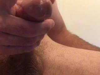 Having fun watching porn.