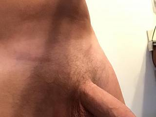 Just an introduction to my clean, cut, groomed cock.
