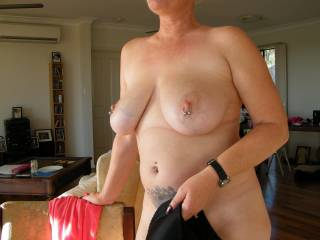 hope that you guys like seeing me naked??