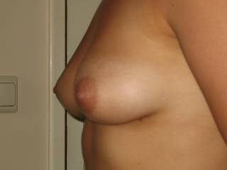 breast from the side