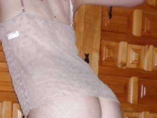 Such nice ass in wonderful transparent undies...