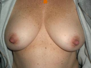 Those are sexy tits Sweetie, like to see those pretty nipples used and played with