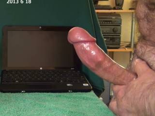 I can't turn the monitor on with a cock in my hand, all slicked and oiled up...could use an extra hand. are you willing?