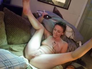 Sexy angie showin her hot bod. Im gonnajump on this,cant wait for hubby!!