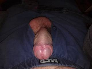 My cock, it needs a good sucking or a warm wet cunt. Any volunteers? :)