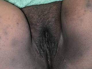 Here's her sweet pussy....please can someone tribute her pictures??