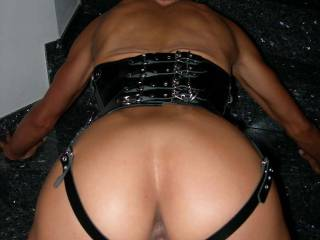 New leather corset
