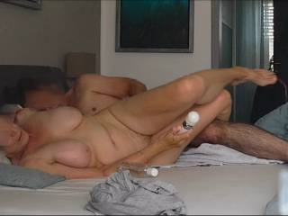 We are both satisfied, after I shoot my sperm in her Ass and she has an intense Orgasm.