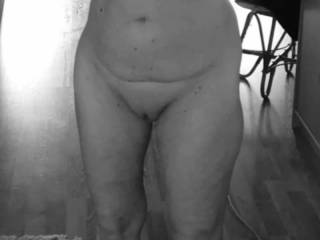 Granny 69 years old with big boobs and shaved pussy