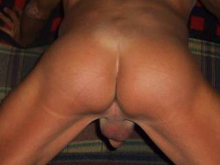 I want to spank your ass with my hard cock right before I fuck you.