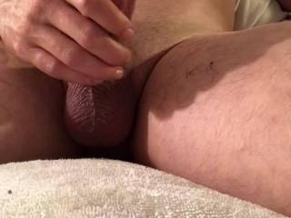 After hours of edging my big cock I want to shoot my massive load covering my favorite cum slut.