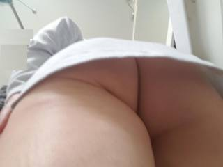 Nice clean ass, ready to be dirtied up. Who\'s up for it and how?