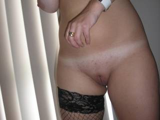 getting into my stockings for youngozboy