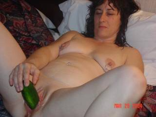 fat cuke for a fat chick